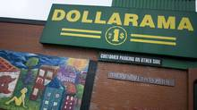 Almost half – 48 per cent – of sales at Dollarama in the second quarter were from products sold for more than $1, chief operating officer Stéphane Gonthier told analysts. (Peter Power/The Globe and Mail/Peter Power/The Globe and Mail)