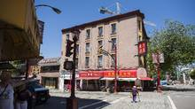 A street scene from the historic Chinatown in Vancouver. (Rafal Gerszak/The Globe and Mail)