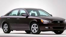 2006 Hyundai Sonata Credit: Hyundai