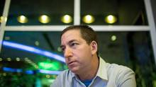 Glenn Greenwald in Rio de Janeiro this week. (Jimmy Chalk For The Globe and Mail)