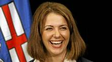 Wildrose Alliance Party Leader Danielle Smith. (Jeff McIntosh/The Canadian Press)