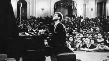 Young Van Cliburn performing before a rapt audience (AP)