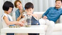 Parents should spend time discussing financial matters with their kids – learning as a family has never been so important. (Getty Images/iStockphoto)