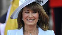 Carole Middleton is seen after the wedding ceremony of Prince William and Kate Middleton at Westminster Abbey, in central London, April 29, 2011. (Toby Melville/Toby Melville/Reuterse)