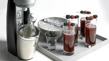 Gadgets like the sleek Penguin soda maker ($299 through www.sodastream.ca) make a fun addition to cocktail parties.