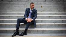 Vancouver Mayor Gregor Robertson is a big Coen brothers fan, and thinks Inside Llewyn Davis was snubbed at the Oscars. (DARRYL DYCK for THE GLOBE AND MAIL)