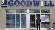 The sudden closing of 16 Toronto-area Goodwill stores and 10 donation centres has stunned the city. (Fred Lum/The Globe and Mail)