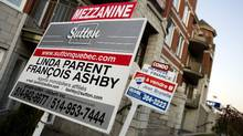 For sale signs in Montreal (Christinne Muschi/christinne muschi)