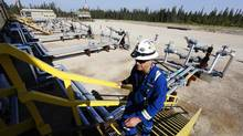 Cenovus's low steam-to-oil ratio is expected to rise this year at Foster Creek. Cenovus currently produces 100,000 barrels of heavy oil per day at their Christina Lake tar sands project. (Todd Korol<137>/ Reuters<137>/Reuters)