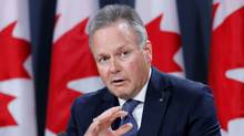 Bank of Canada Governor Stephen Poloz speaks during a news conference in Ottawa on Oct. 19, 2016. (CHRIS WATTIE/REUTERS)