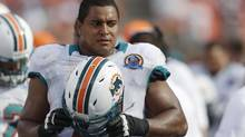 Miami Dolphins tackle Jonathan Martin has accused a fellow player of bullying him. (Wilfredo Lee/AP)