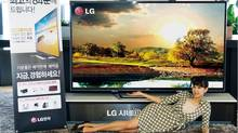 LG Electronics says it plans to roll out an 84-inch 4K TV in North America, Europe, Asia, and Latin America in September. The cost? Just over $22,000. While that may seem like a ridiculous sum of money, remember that the first generation of 42-inch plasma televisions sold in North America cost close to $40,000. (LGEPR/Flickr Creative Commons)