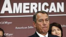 U.S. House Speaker John Boehner. (YURI GRIPAS/REUTERS)