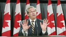 Canada's chief electoral officer Marc Mayrand speaks during a news conference in Ottawa September 10, 2007. REUTERS/Chris Wattie (CANADA) (CHRIS WATTIE/REUTERS)