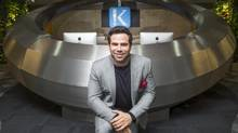 Leerom Segal helped found Klick Health when he was 17. (Tim Fraser for The Globe and Mail)