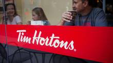 Tim Hortons was ranked the No. 1 most trusted brand in Canada in the Gustavson Brand Trust Index. (Ben Nelms/Bloomberg)