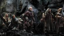 "The Hobbit, the latest Middle Earth adventure from Peter Jackson, was shot with new digital technology that's supposed to make us go whoa. not ""Wha??"" (AP)"