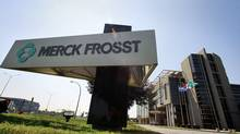 The Merck Frosst building in Kirkland, Quebec. (Christinne Muschi/Christinne Muschi for The Globe and Mail)