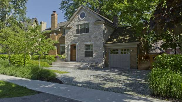 Home of the Week, 47 Queen Mary's Drive, Toronto. Built in 1942, the house has undergone a total renovation by the current owners.