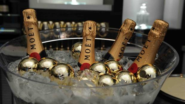 "Moet & Chandon celebrates ""Rust and Bone"" at Michael's on Simcoe, September, 2012. (Tom Sandler for the Globe and Mail)"