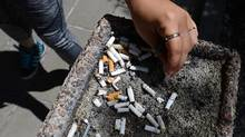 A document outlining strategies to crub youth smoking, published in Monday's edition of the Canadian Medical Association Journal, cites data showing that 18 per cent of youth in Grades 6 to 12 have tried cigarettes. (Sean Kilpatrick/THE CANADIAN PRESS)