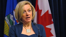 Ms. Notley says the itinerary for her visit is still being finalized. (Dean Bennett/THE CANADIAN PRESS)