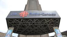 The Radio-Canada CBC building is seen Wednesday, June 5, 2013 in Montreal. (Paul Chiasson/THE CANADIAN PRESS)