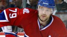 The Montreal Canadiens announced on Saturday that defenceman Andrei Markov will undergo knee surgery. (Photo by Richard Wolowicz/Getty Images) (Richard Wolowicz/Getty Images)