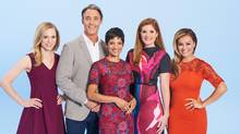 The cast of CTV's Your Morning.