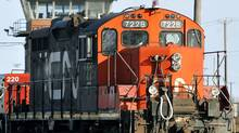 CN showed a profit of $717-million, or $1.69 a share, in the second quarter of 2013, surpassing analysts' expectations. (Graham Hughes/CP)