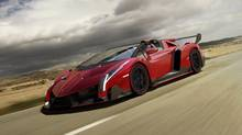 The new Veneno Roadster. (Lamborghini)