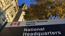 The Canada Revenue Agency headquarters in Ottawa is shown on Friday, November 4, 2011. (Sean Kilpatrick/The Canadian Press)