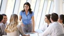 Research suggests the advancement of women at the office doesn't negatively affect hard-working members of traditionally advantaged groups. (Catherine Yeulet/Thinkstock)