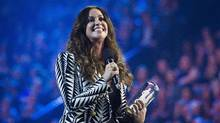 Singer Alanis Morissette, seen here in 2015, was one of the signatories of the letter. (Nathan Denette/The Canadian Press)