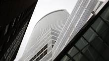The headquarters of Goldman Sachs in lower Manhattan. (Michael Appleton/The New York Times)