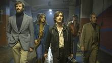 Free Fire, directed by Ben Wheatley and Amanda Jump, is a comically violent shootout flick opening at this year's Midnight Madness program at TIFF.
