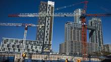 The Canadian Association of Accredited Mortgage Professionals, which represents brokers across the country, argues that while all the focus is on the resale market, 'the adjustment of housing starts has just barely begun.' (MARK BLINCH/REUTERS)