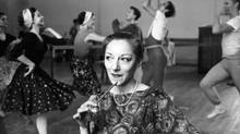 Celia Franca at a National Ballet of Canada rehearsal in 1964 (The Globe and Mail)