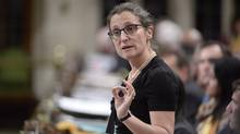 Foreign Affairs Minister Chrystia Freeland speaks during question period in the House of Commons on Parliament Hill in Ottawa on Monday, May 1, 2017. (Adrian Wyld/THE CANADIAN PRESS)