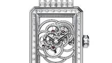 With a gem weight of 22.66 carats and its unique movement construction, the limited-edition Première Camélia Skeleton watch by Chanel mixes innovation with a haute aesthetic.