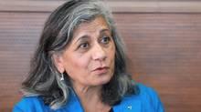Ratna Omidvar, president of Maytree Foundation (Rosa Park)
