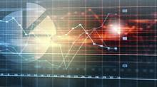 Marketing high tech background (Sergey Nivens/Getty Images/iStockphoto)