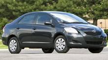 2010 Toyota Yaris sedan (Toyota)