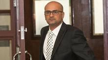 Taxi driver Bassam Al-Rawi appears in Halifax Provincial Court on Feb. 9, 2017. (Jeff Harper)