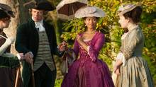 Belle, starring Gugu Mbatha-Raw (Dido), centre, is a handsome piece of selectively reupholstered history. (David Appleby/Fox Searchlight)
