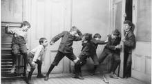 Boys are lagging girls in educational achievement, and not because they are widely considered more rambunctious in class. (Library of Congress/Library of Congress)