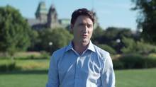 In a campaign ad, Justin Trudeau admits he's not ready – 'not ready to watch hard-working Canadians lose jobs and fall further behind.'