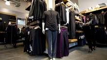 The inside of the Lululemon Lab and store in Vancouver, B.C. is seen Tuesday, Nov. 5, 2013. (JONATHAN HAYWARD/THE CANADIAN PRESS)