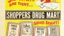 A glimpse at vintage advertising: Shoppers Drug Mart's 1966 back-to-school flyer. (Hand-out/SHOPPERS DRUG MART CORP.)