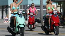 Scene from Spring Breakers, directed by Harmony Korine.